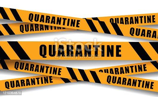 istock Quarantine banners 1210364870