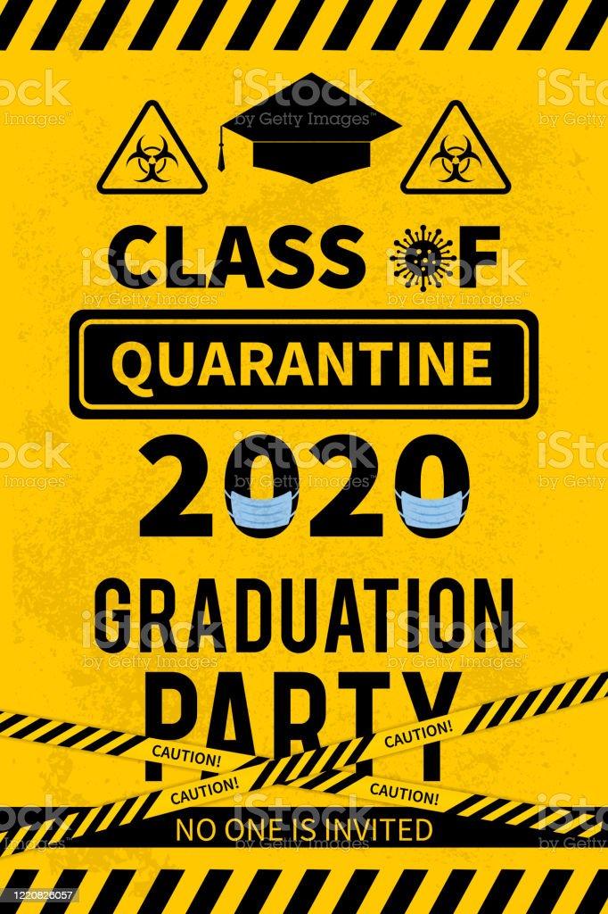 Quarantine Class Of 2020 Sign Social Distancing Graduation