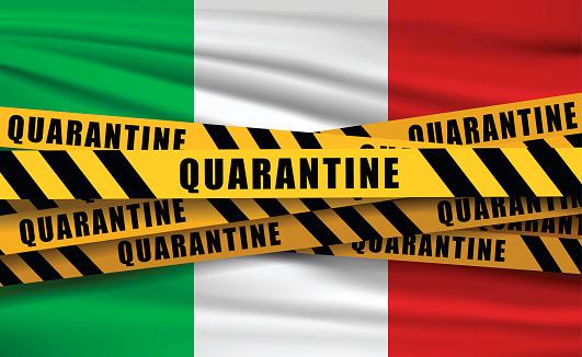 Quaretina and flags