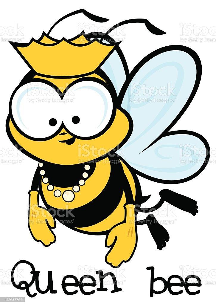 Queen Bee Cartoon Character Stock Vector Art More Images Of 2015