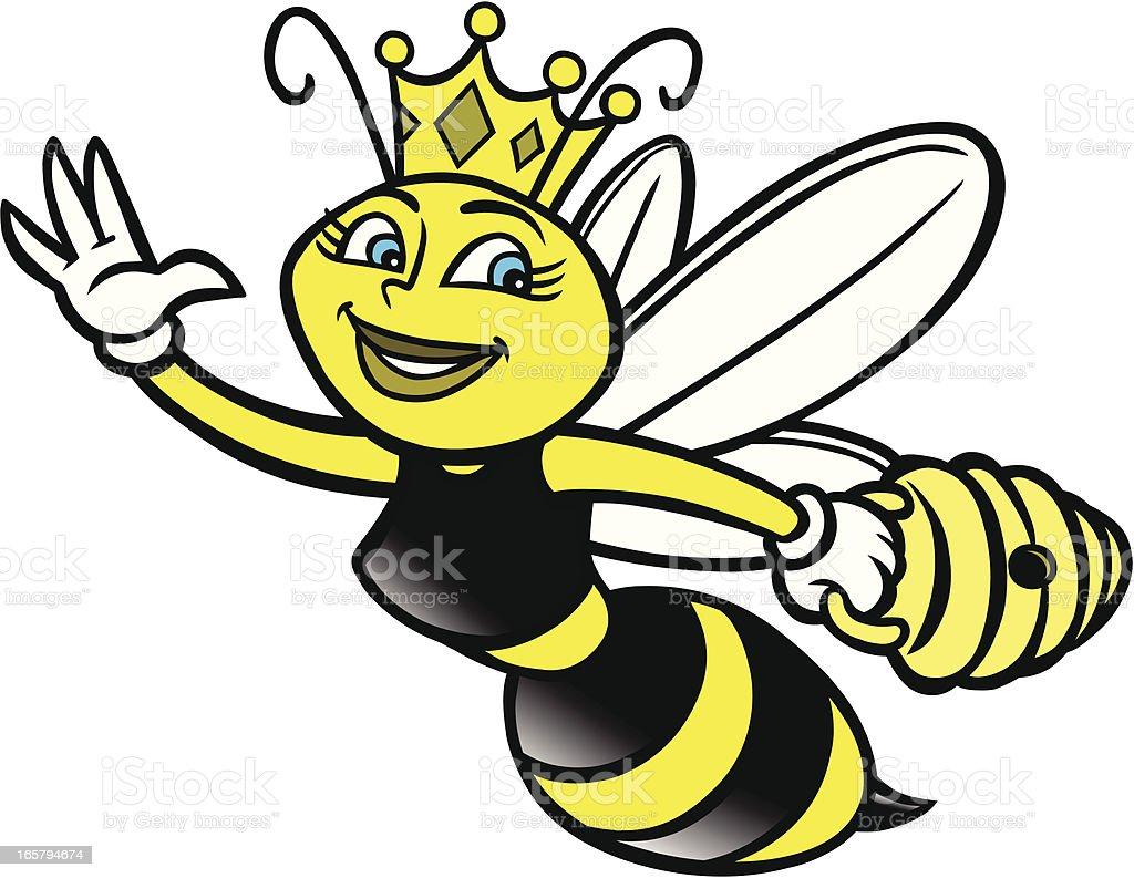 Royalty Free Cartoon Of The Yellow Jacket Mascot Clip Art Vector