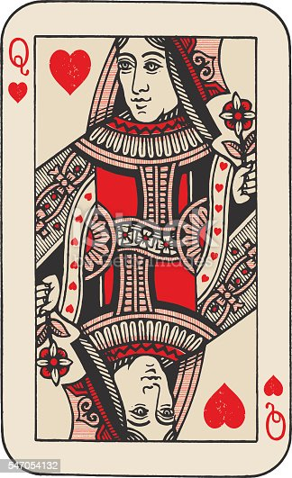 istock Queen of Hearts 547054132