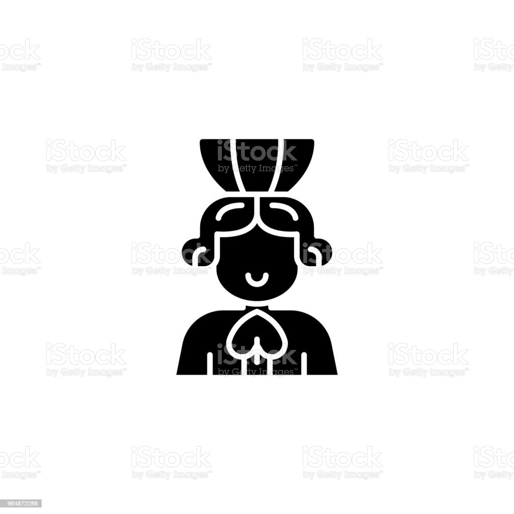 Queen of spades black icon concept. Queen of spades flat  vector symbol, sign, illustration. royalty-free queen of spades black icon concept queen of spades flat vector symbol sign illustration stock vector art & more images of ace