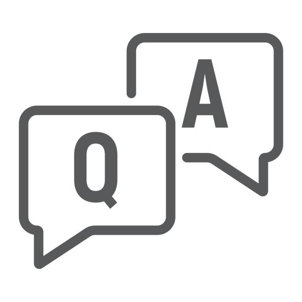 Q And A Illustrations, Royalty-Free Vector Graphics & Clip