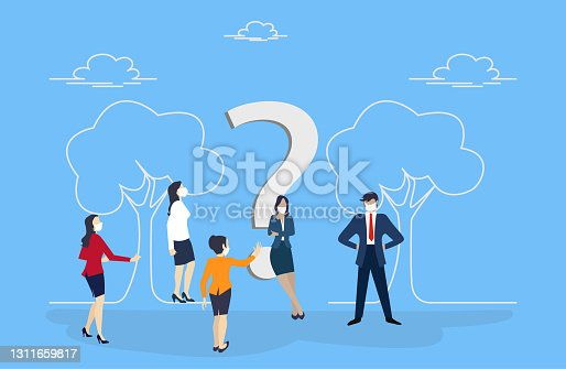 istock Question and Answer 1311659817