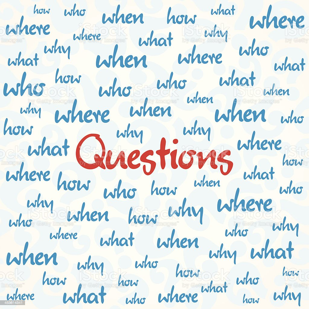 question background royalty-free stock vector art