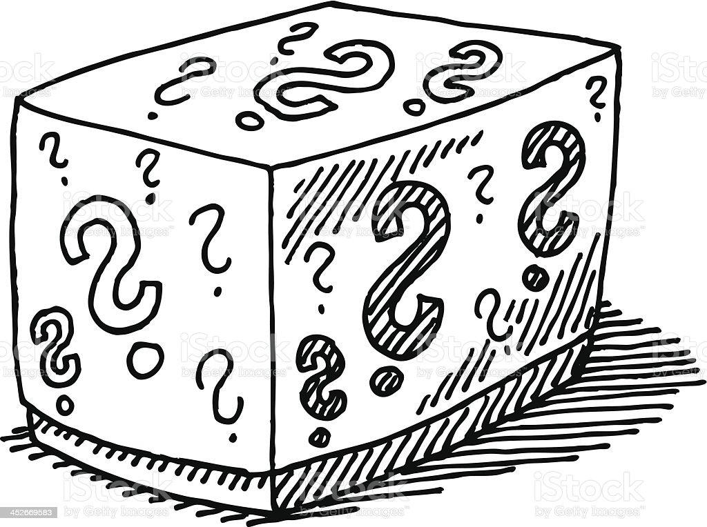 Point Dinterrogation Dessin Fermé Box Vecteurs libres de ...