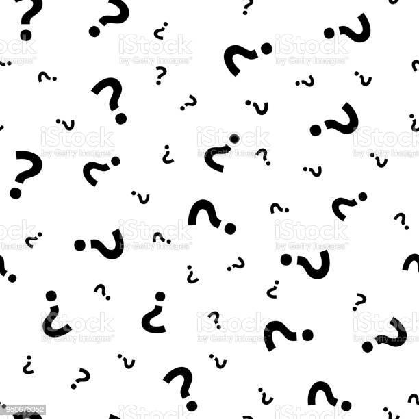 Question mark grunge seamless pattern query marks random vector vector id950675352?b=1&k=6&m=950675352&s=612x612&h=gaf2yalomtwy8svmxvkz isbxrhga24kunfsqwe28sg=