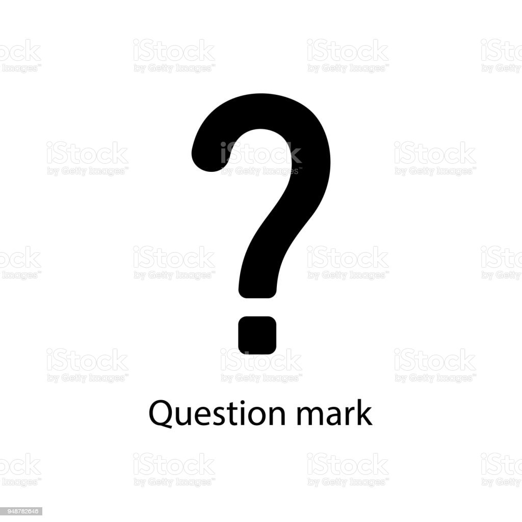 Question Mark Icon Element Of Minimalistic Icon For Mobile Concept