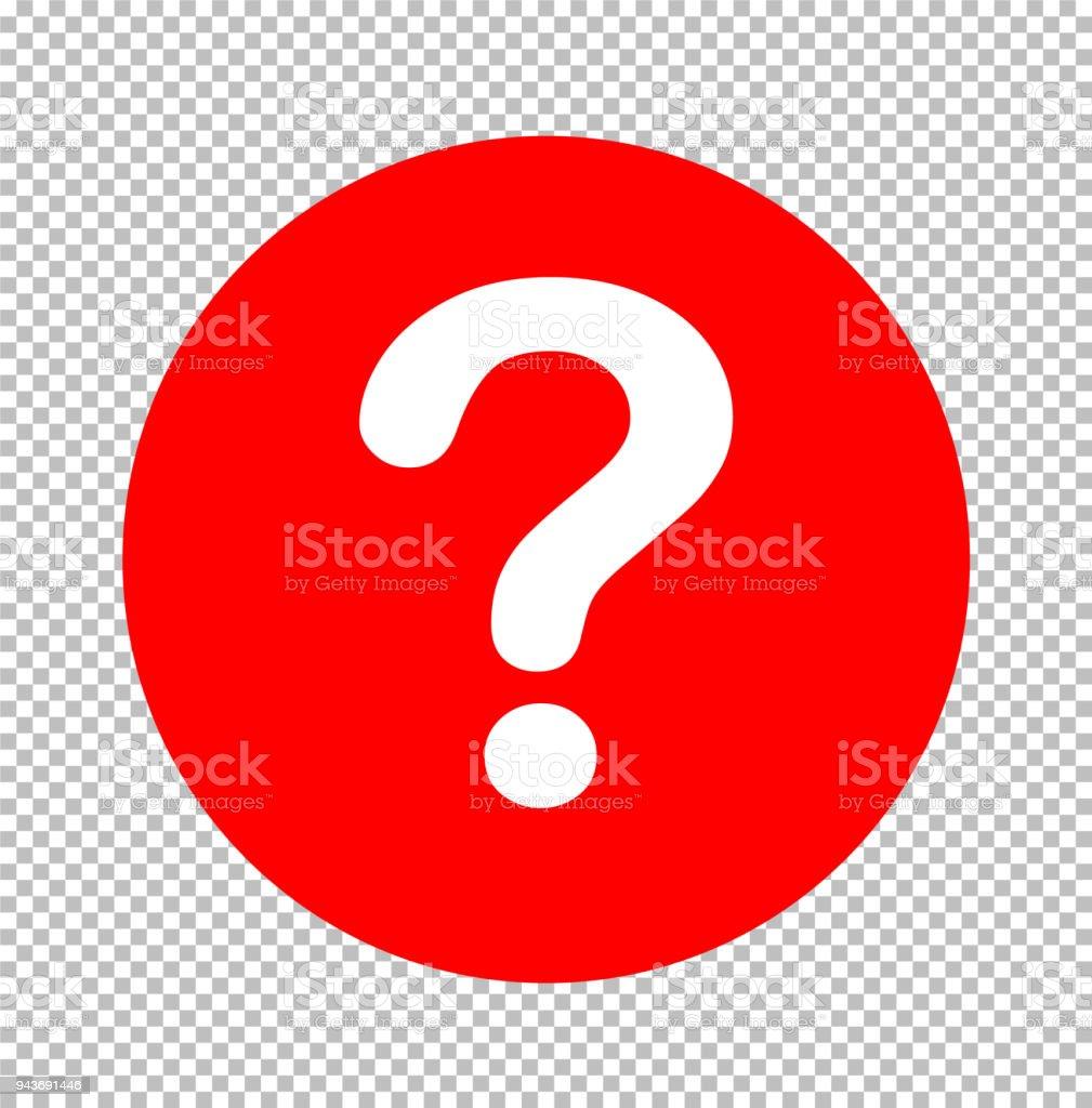 Fragezeichensymbol Zeichen Transparent Fragezeichensymbol Flachen ...