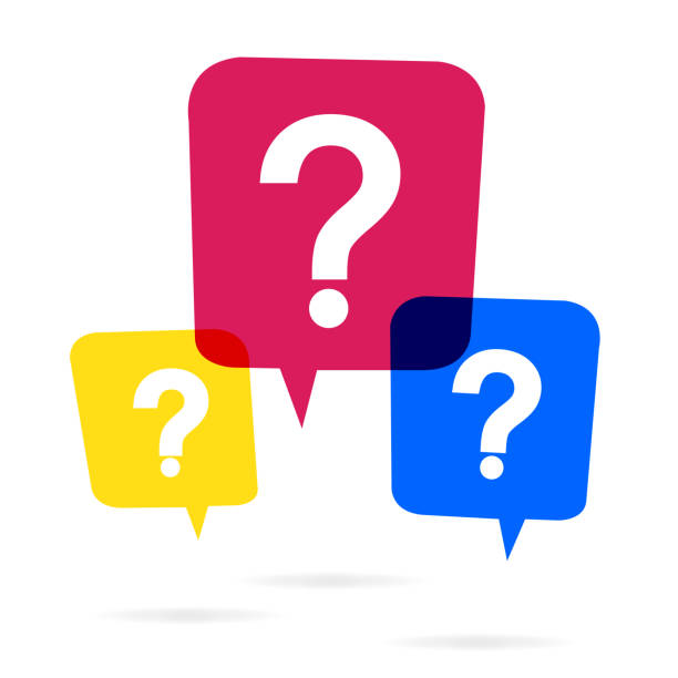 stockillustraties, clipart, cartoons en iconen met vraag mark pictogram - question