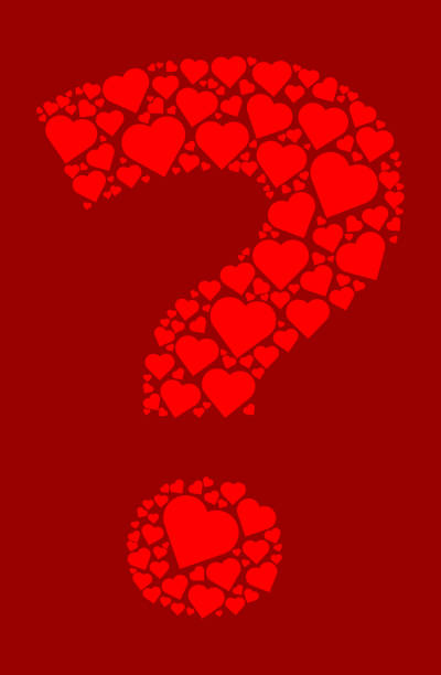 Heart Question Mark Background Illustrations, Royalty-Free ...