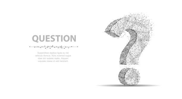 Question mark. vector art illustration