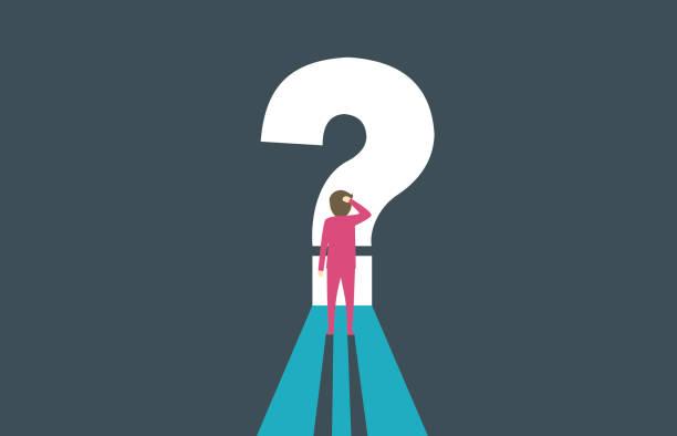 illustrazioni stock, clip art, cartoni animati e icone di tendenza di question mark - incertezza