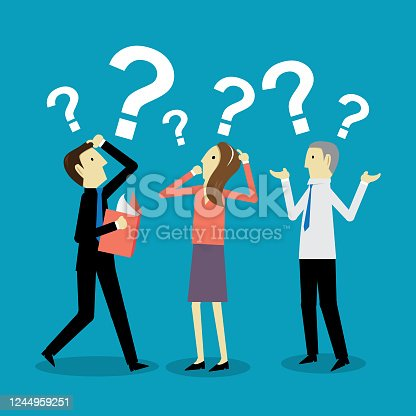 istock Question marks 1244959251
