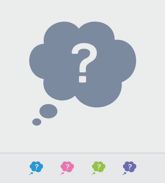 Question & Thought - Granite Icons A professional, pixel-perfect icon designed on a 32x32 pixel grid and redesigned on a 16x16 pixel grid for very small sizes curiosity stock illustrations