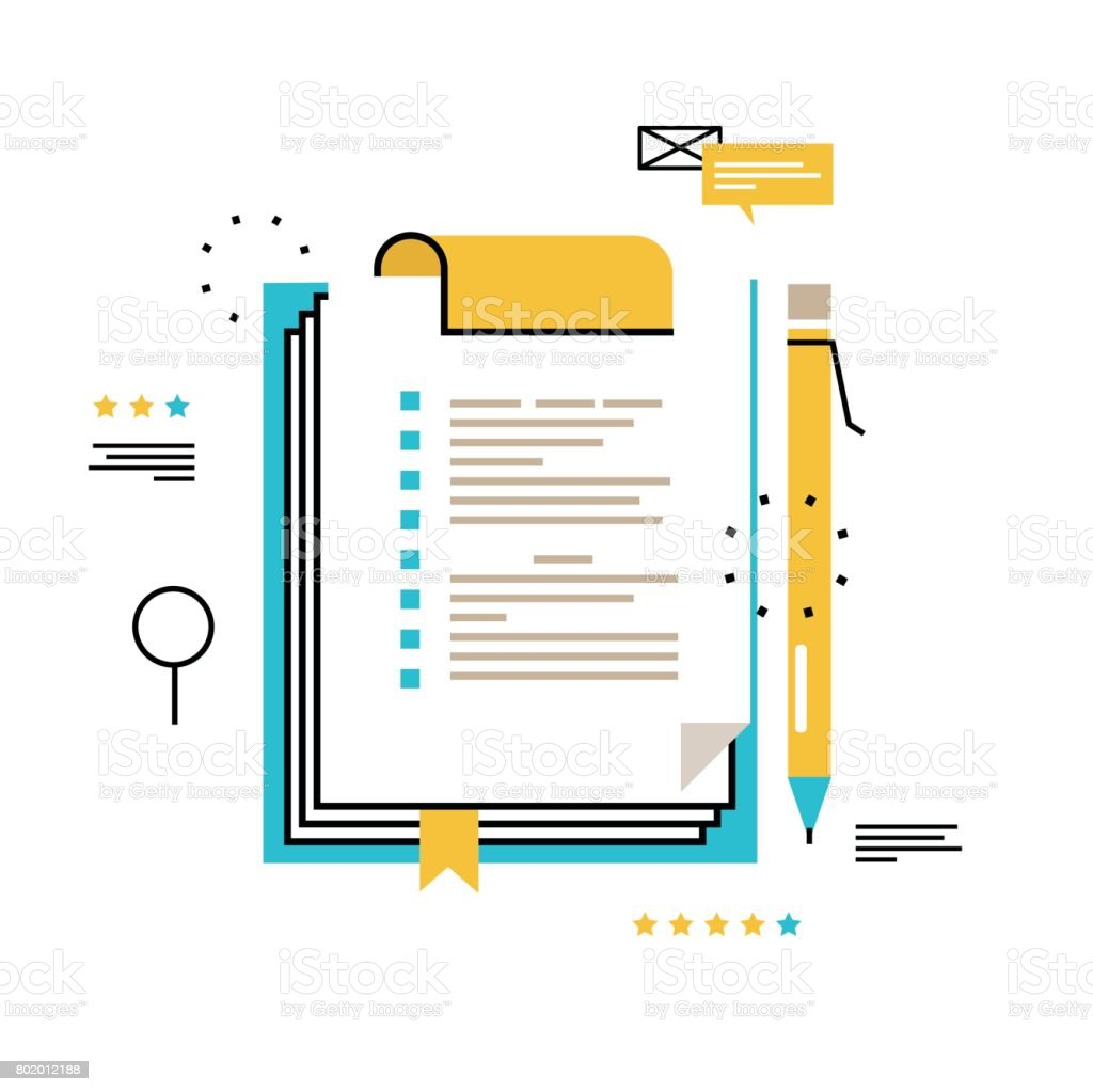 Questionnaire clipboard vector art illustration