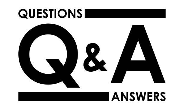 ilustraciones, imágenes clip art, dibujos animados e iconos de stock de preguntas y respuestas. icono negro. - faq