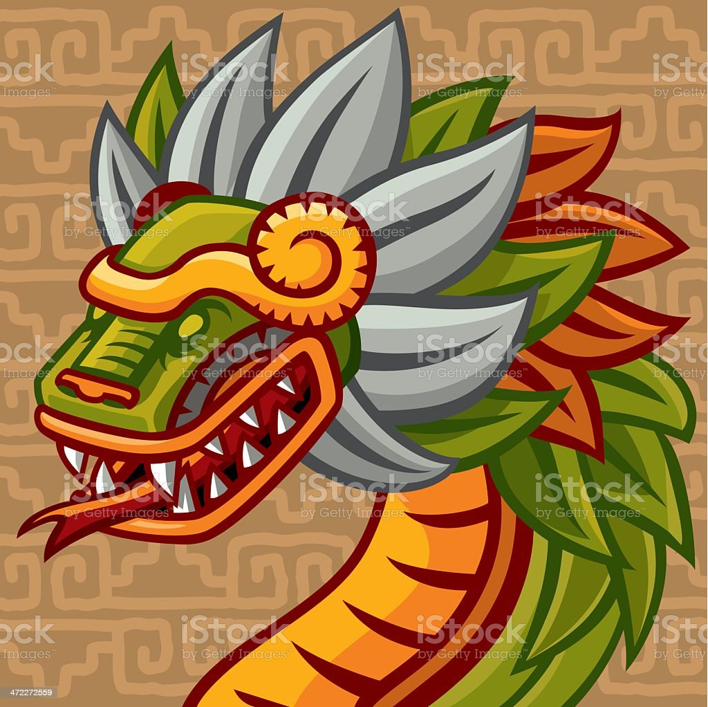 Quetzalc Atl Stock Vector Art More Images Of Ancient