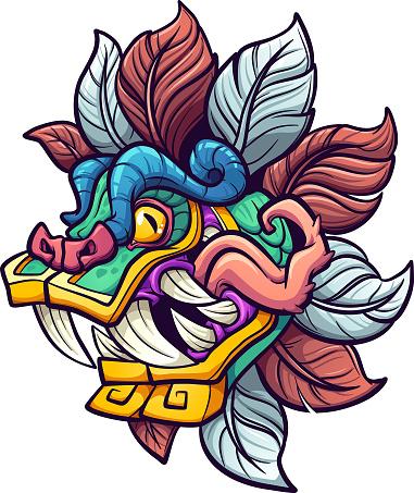 Quetzalcoatl Head