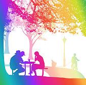 Quiet Afternoon Rainbow