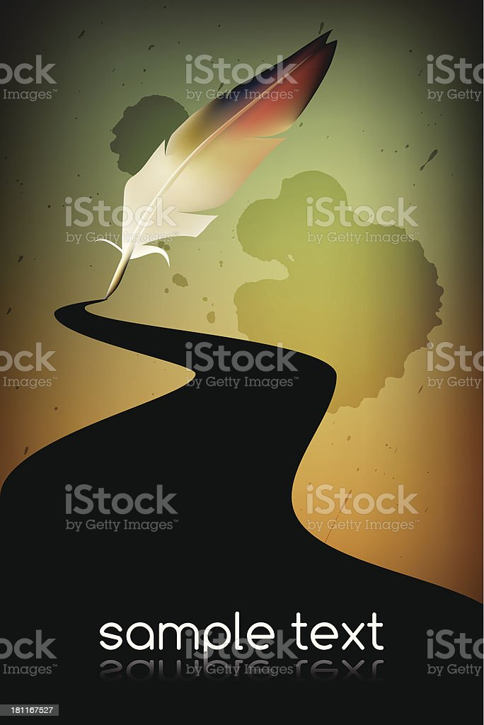 Quill royalty-free quill stock vector art & more images of art