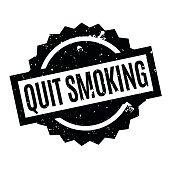 Quit Smoking rubber stamp