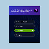 Quiz, Exam, Social media quiz game template & background, Question, Objective question for team building activities, Assessment