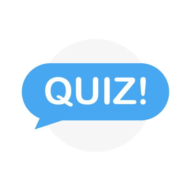 ilustrações de stock, clip art, desenhos animados e ícones de quiz. sticker for social media content. search buuble quiz! - músico popular