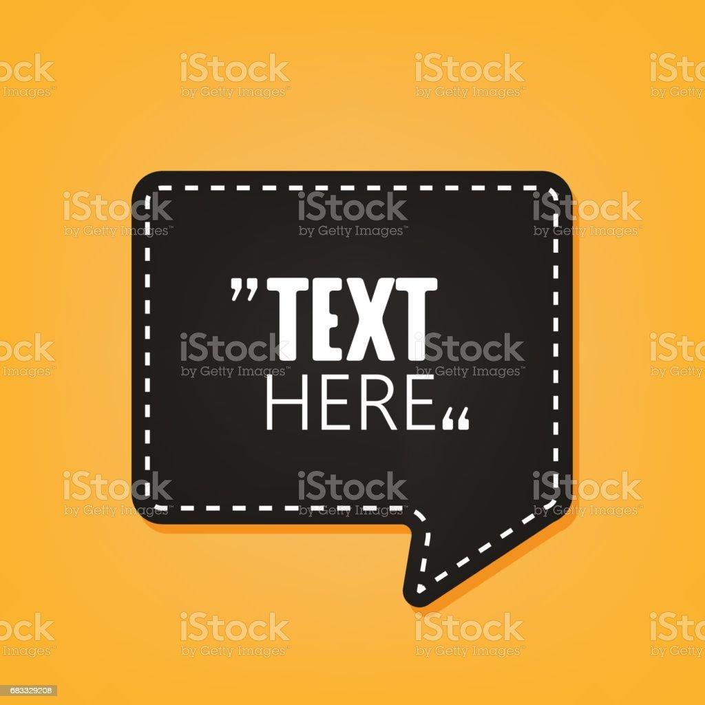 Quotation Speech Bubble. Quote sign icon. quotation speech bubble quote sign icon - immagini vettoriali stock e altre immagini di bolla royalty-free