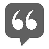 Quotation, status icon - Well organized and editable Vector design using in commercial purposes, print media, web or any type of design projects.