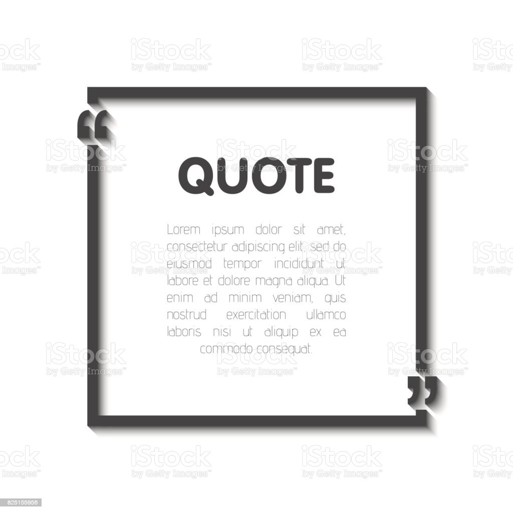 Quote bubble blank templates empty business card paper sheet empty business card paper sheet information text magicingreecefo Image collections
