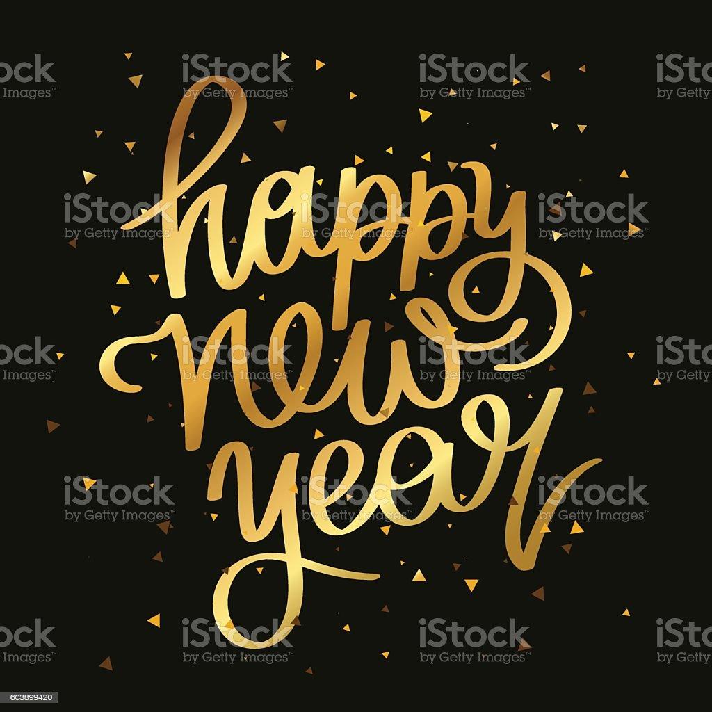 Free Stock Quote Quote Happy New Year Stock Vector Art 603899420  Istock