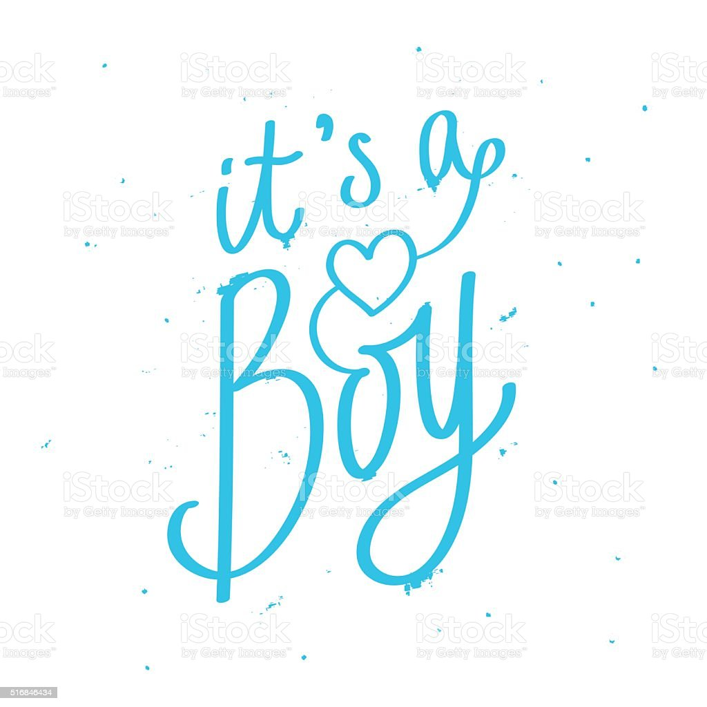 royalty free its a boy clip art vector images illustrations istock rh istockphoto com it's a boy baby shower clipart it's a boy clipart free