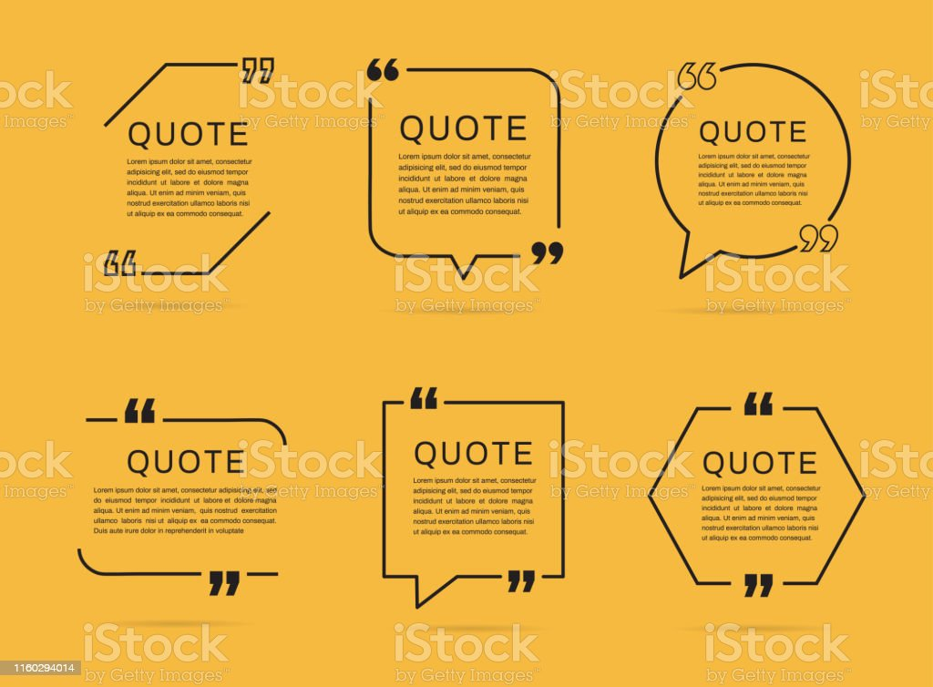 quotes vector art s