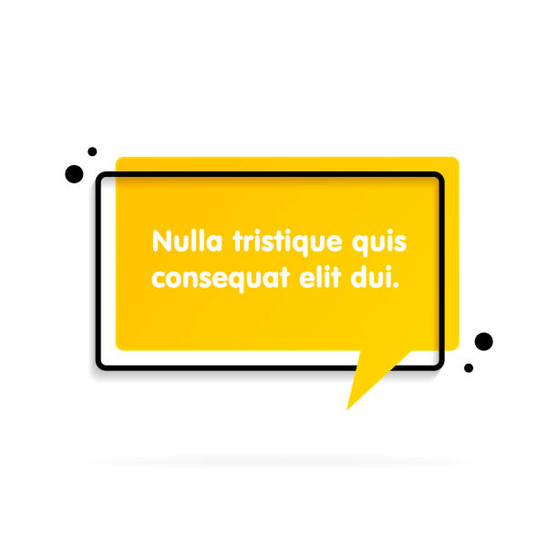 Quote text bubble. Commas, note, message and comment. Quote text bubble. Commas, note, message and comment Vector illustration speech bubble stock illustrations