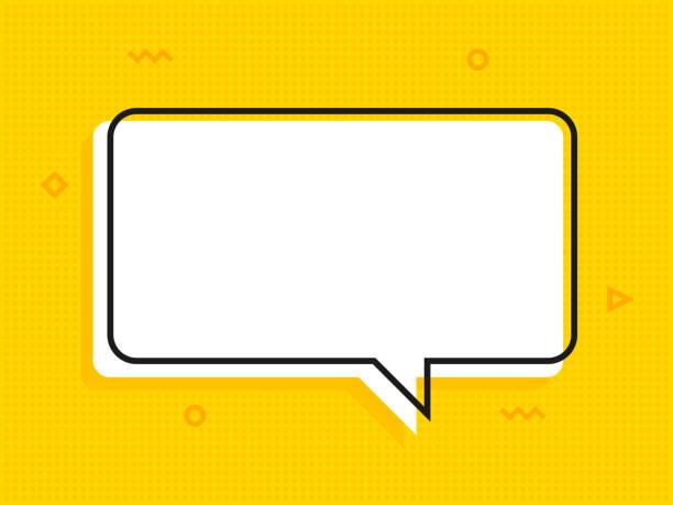 Zitat Textblase. Kommas, Hinweis, Nachricht und Kommentar Vektor – Vektorgrafik