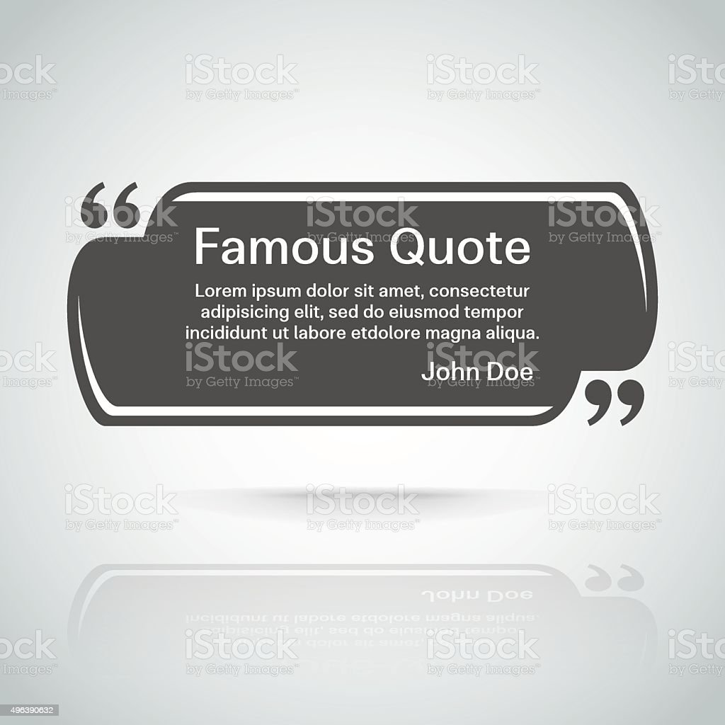 quote vector border vector art illustration