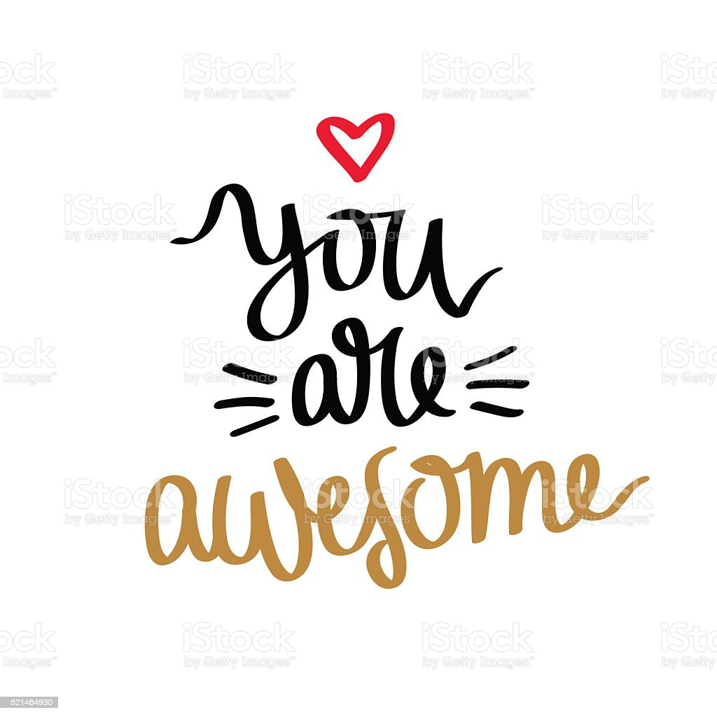 royalty free you re awesome clip art vector images illustrations rh istockphoto com you are awesome clip art images you are awesome clip art free