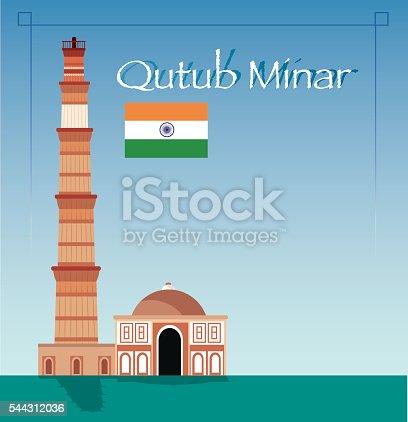 istock Qutub Minar 544312036