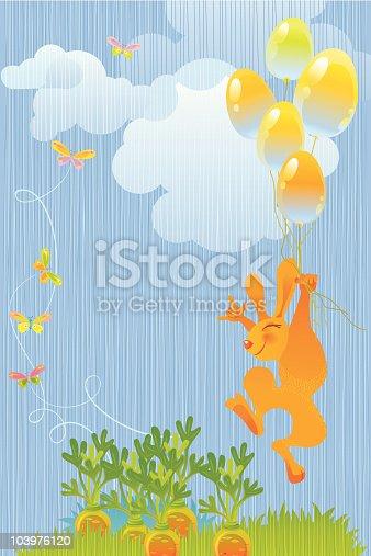 istock Rabbit and Carrots 103976120