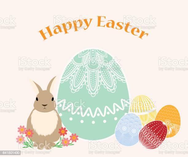 Rabbit and easter egg greeting illustration vector id641501430?b=1&k=6&m=641501430&s=612x612&h=uvnfhc8nymkwy bf0t8tbrbur99ku4gzx9ydw ga9tm=