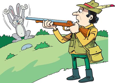 Jäger Und Hase