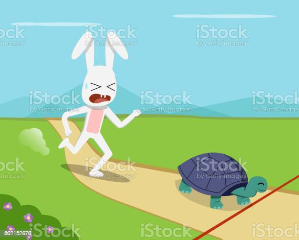 Rabbit and tortoise go to finish line vector vector id862152676?b=1&k=6&m=862152676&s=612x612&h=dd 8xkxowb hlnddnp7obdsrjldgee51uqg5okp3jh4=