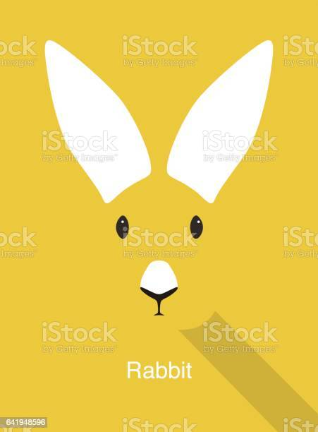 Rabbit cartoon face flat animal face icon vector vector id641948596?b=1&k=6&m=641948596&s=612x612&h=cobsso2lu1s1cz94bu ifyrbnn2md07stgul3ltrt y=