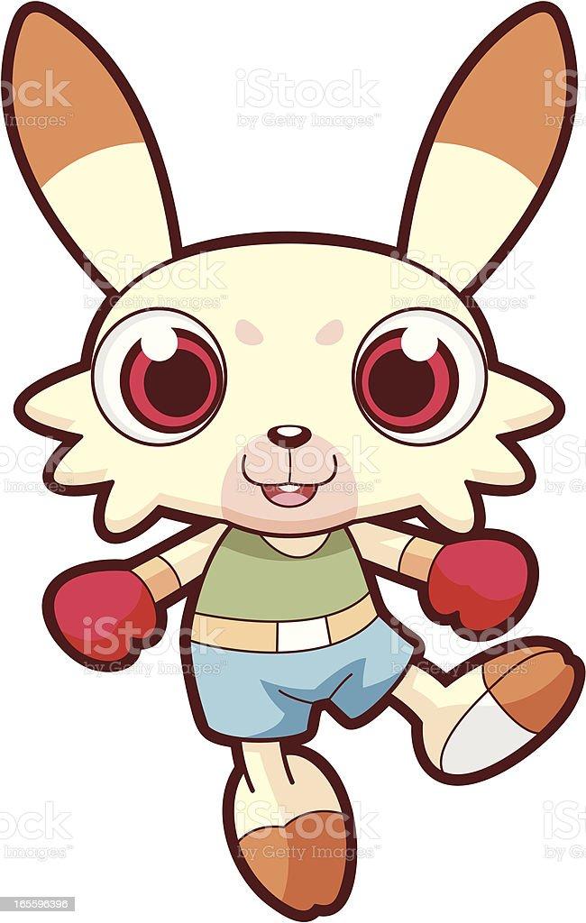 Rabbit Cartoon royalty-free rabbit cartoon stock vector art & more images of activity