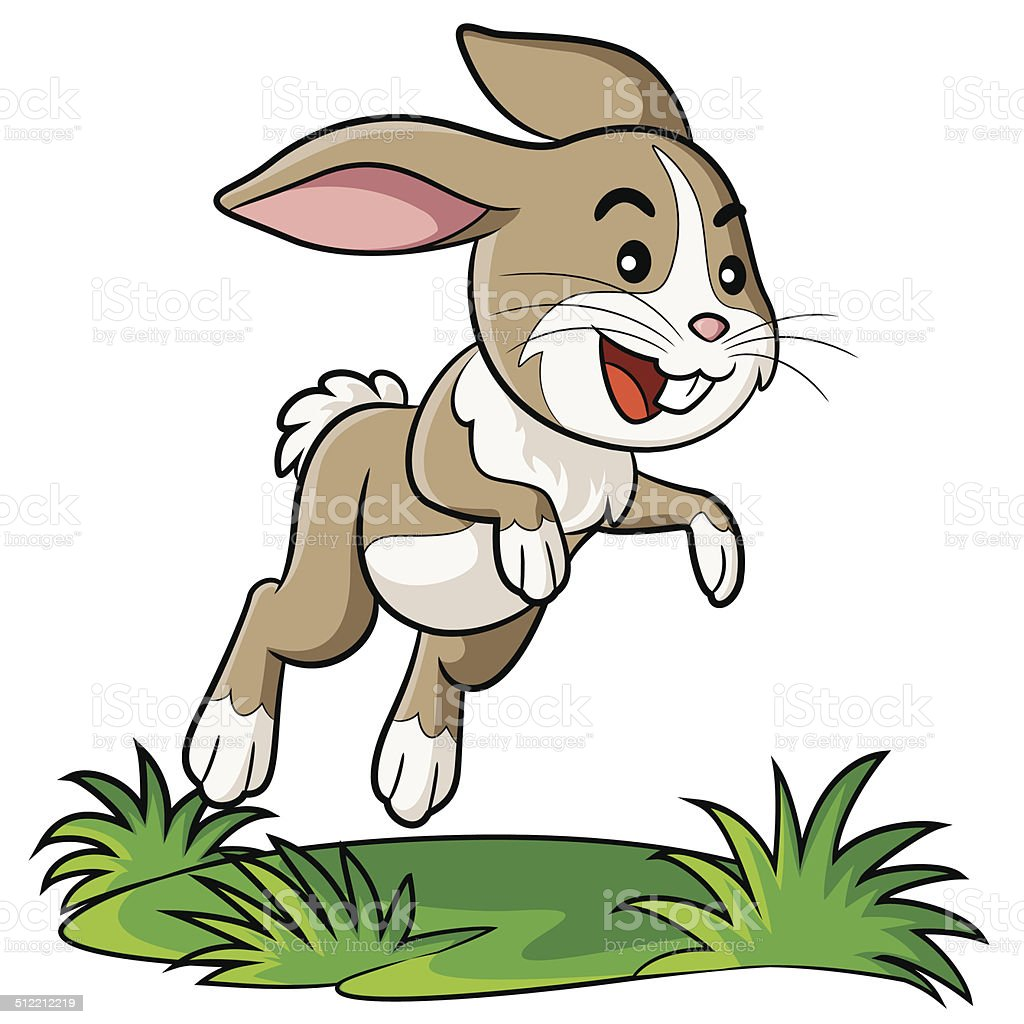 royalty free rabbit jump clip art  vector images free bunny clipart images free bunny clip art black and white