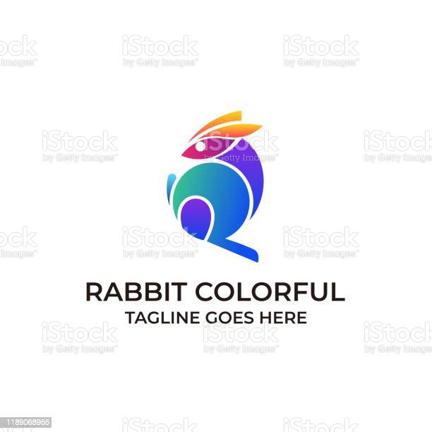 Rabbit colorful illustration vector design template vector id1189068955?b=1&k=6&m=1189068955&s=612x612&h=r1cmeimwdd0igcv3 wnjrt0w0vcpmlgnqlgb dqjfhm=