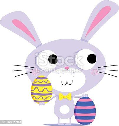 istock Rabbit Easter Egg. 1216805780