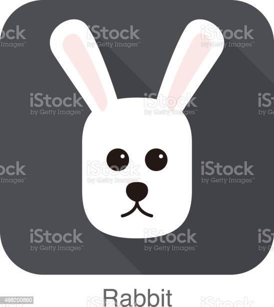 Rabbit face flat icon vector vector id498200860?b=1&k=6&m=498200860&s=612x612&h=0ute9yisfvcwhp9e9bd6bm9  gbp1tmqkthfbmodnbc=